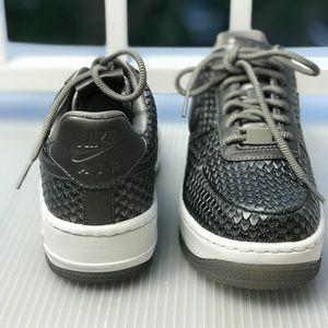 b8e19520fa1587 Nike Shoes - NWT Nike Air Force 1 Upstep PRM Mtls Pewter WMNS